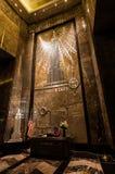 NOWY JORK, LIPIEC - 19: Empire State Building wejściowa sala Obraz Royalty Free