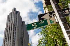 Nowy Jork, Manhattan Obrazy Royalty Free