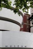 NOWY JORK miasto WRZESIEŃ 01: Solomon R Guggenheim muzeum mod Zdjęcia Royalty Free