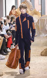 Nowy Jork mody tydzień FW 2017 - Lacoste kolekcja Zdjęcia Royalty Free