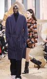 Nowy Jork mody tydzień FW 2017 - Lacoste kolekcja Obrazy Stock
