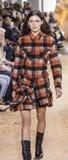 Nowy Jork mody tydzień FW 2017 - Lacoste kolekcja Fotografia Stock