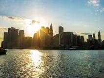 Nowy Jork nabrzeże zdjęcie royalty free