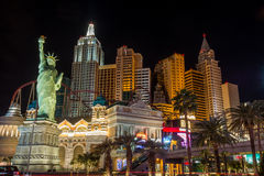 Nowy Jork Nowy Jork hotel Las Vegas fotografia royalty free