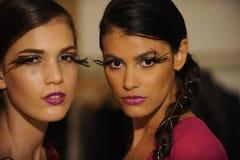 NOWY JORK, NY - WRZESIEŃ 04: Modele uczęszczają Pamela Gonzales prezentację Zdjęcia Royalty Free