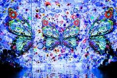 NOWY JORK, NY - WRZESIEŃ 06: Pasa startowego tło przy kłamstwa SANGBONG lata 2015 kolekcją Obrazy Royalty Free