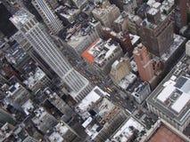 Nowy Jork od Above Zdjęcie Royalty Free