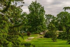 Nowy Jork ogród obraz royalty free