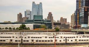 Nowy Jork pociągi Zdjęcia Royalty Free