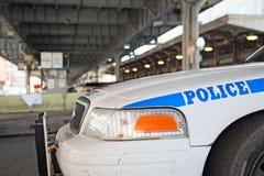 Nowy Jork policja patroluje miasteczko obraz royalty free