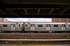 Nowy Jork stacja metra przy 125th ulicą zdjęcie royalty free