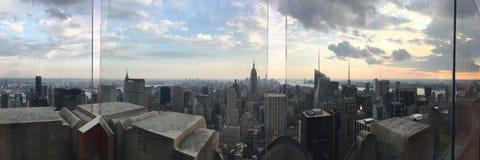 Nowy Jork stanu Empirowy widok Zdjęcia Royalty Free