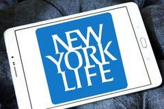 Nowy Jork ubezpieczenie na życie firmy logo Obraz Royalty Free