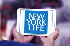Nowy Jork ubezpieczenie na życie firmy logo Fotografia Stock