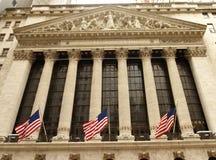 Nowy Jork, usa - Czerwiec 10, 2018: New York Stock Exchange obrazy royalty free