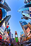 Times Square jest symbolem Miasto Nowy Jork Obrazy Royalty Free