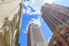 Nowy Jork, usa Maj 21, 2014 Miasto widok Miasto Nowy Jork linia horyzontu Zdjęcia Stock