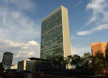 NOWY JORK, usa - Maj 26, 2018: Narody Zjednoczone budynek w Nowym Yor zdjęcie royalty free