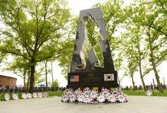 Nowy Jork, usa - Maj 28, 2018: Wojna Koreańska pomnik w Nowy Jork Ci zdjęcie stock