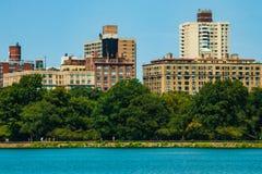 NOWY JORK, usa - Sierpień 30, 2018: Miasto Nowy Jork akty być centrala być gmachami ludzkiego Manhattan naturalnego parka zjawisk zdjęcie royalty free