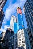 NOWY JORK, usa - Sierpień 28, 2018: Widok wśród drapacz chmur Nowy Jork, NY, usa fotografia royalty free