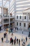 Nowy Jork, usa - 5 Styczeń, 2019 Wielkomiejski muzeum sztuki w Nowy Jork fotografia stock