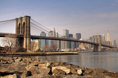 Nowy Jork w Wiosna Obrazy Royalty Free