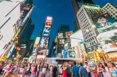 Nowy Jork, WRZESIEŃ - 5, 2010: Times Square na Wrześniu 5 w Nowym Zdjęcie Stock