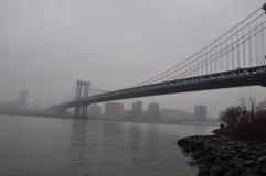 Nowy Jorku Manhattan most Obrazy Stock