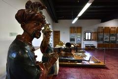 Nowy kasztel, Salowa ekspozycja, Banska Stiavnica, Sistani, UNESCO Fotografia Royalty Free