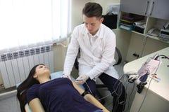 Nowy kierunek w medycynie jest electroneuromyography Fotografia Stock