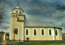 nowy kościół Zdjęcia Royalty Free