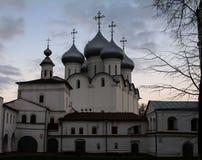 Nowy Kościelny kompleks blisko Moskwa Zdjęcia Stock