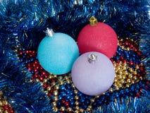 nowy koralika rok s Zdjęcie Royalty Free