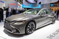 Nowy 2018 Lexus LS 500 samochód Zdjęcie Royalty Free