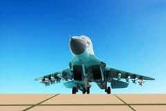 Nowy lotnictwo system MiG-35 Zdjęcia Royalty Free