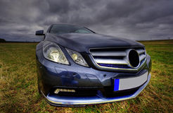 Nowy luksusowy Mercedes benz cgi coupe Zdjęcia Stock