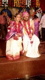 Nowy młody małżeństwo obrazy royalty free