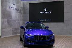 Nowy Maserati suv na pokazie w Bangkok Międzynarodowym Motorowym przedstawieniu 2017 Zdjęcie Royalty Free