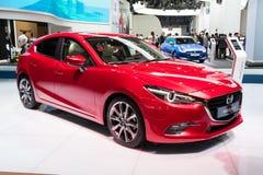 Nowy Mazda 3 samochód Fotografia Royalty Free