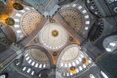 Nowy meczet w Fatih, Istanbuł Fotografia Royalty Free