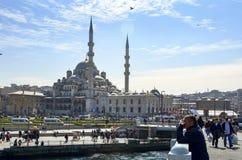 Nowy Meczetowy Istanbuł Zdjęcia Royalty Free
