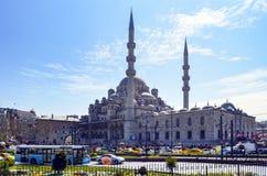 Nowy Meczetowy Istanbuł Eminonu kwadrat Zdjęcia Royalty Free