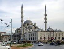 Nowy Meczetowy Istanbuł Eminonu kwadrat Fotografia Stock