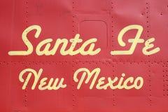 nowy Meksyk w Santa fe zdjęcie stock