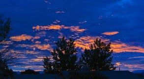 nowy meksyk, wschód słońca Zdjęcie Stock