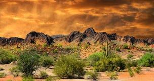 Nowy - Mexico granica Zdjęcie Royalty Free