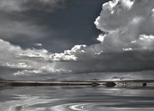 Nowy - Mexico woda i niebo Obraz Royalty Free