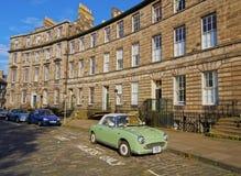 Nowy miasteczko w Edynburg Zdjęcia Royalty Free