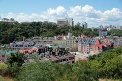 Nowy miasteczko w Kijów Zdjęcia Royalty Free